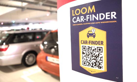 Car-Finder pilar